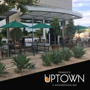 Patio Dining at Frankie's Uptown